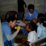 Dr. Wong on a medical mission in Honduras